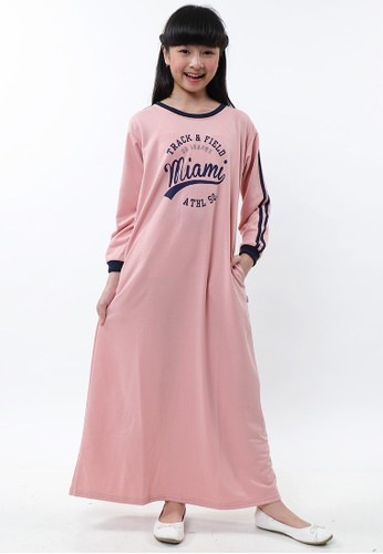 EXIT GIRL pink Azkia Dress FFF60KAAB172A5GS_1