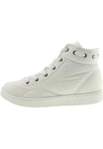 Maxstar Maxstar Women's 020 Hidden Heel Canvas Tennis Shoes US Women Size MA168SH61BWCHK_1
