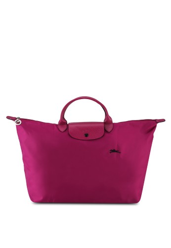LONGCHAMP pink Le Pliage Club Travel Bag L (nt) 12DEDACD5CCCE1GS_1