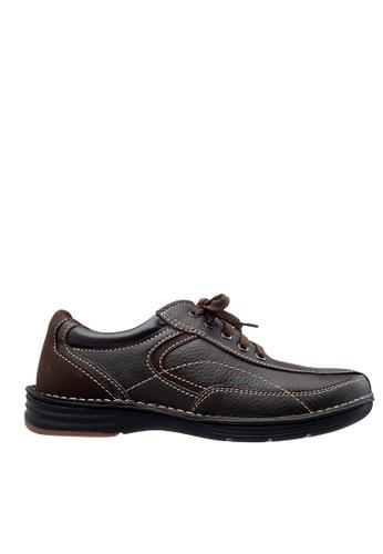 Obermain brown Obermain Men's Doyle Casual Sneaker - Dark Brown 3F930SHAEA7003GS_1