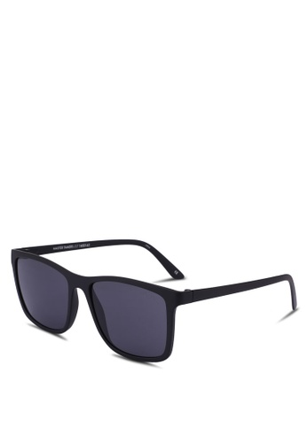 Le Specs black Master Tamers 1602163 Sunglasses 003C1GL115C43AGS_1