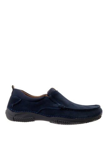 Hush Puppies navy Hush Puppies Men's Norman Loafer - Navy 813F2SH9C0AAFFGS_1