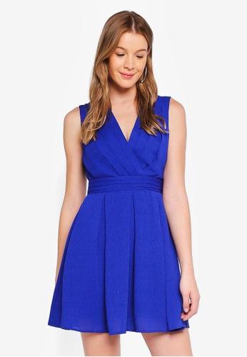 Angeleye blue Royal Blue Waist Band Dress 90675AA832BE41GS_1