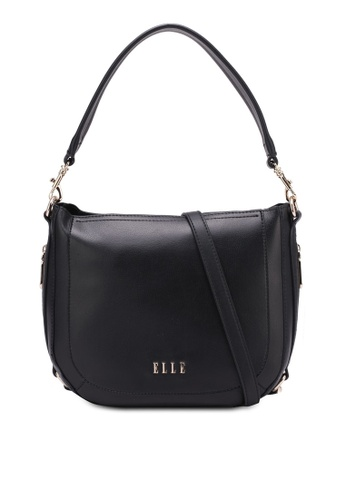 ELLE black Santiago Bag EL900AC0S25CMY_1