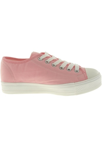 Maxstar pink Maxstar Women's C1-1 6 Holes Canvas Low Top Casual Sneakers US Women Size MA164SH78PYZSG_1