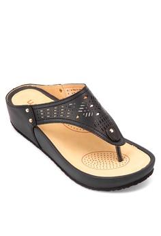 Thong Wedge Slides