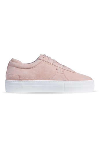 AXEL ARIGATO Platform Sneaker 裸色麂皮 A78B3SHDAB02A1GS_1
