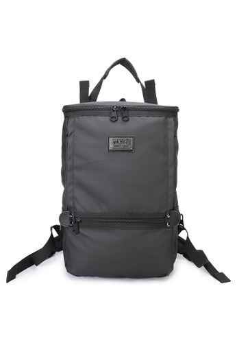 DUSTY black Twin-Bucket backpack(L) 50D5EAC7DAE68CGS_1