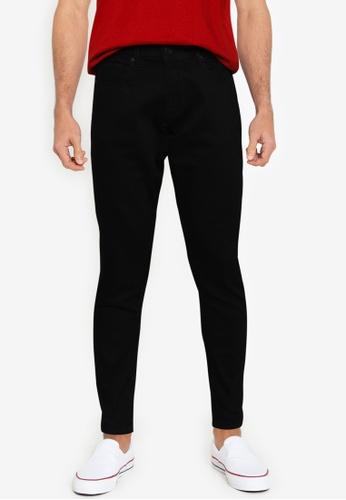 Ben Sherman black Straight Black Jeans 50B87AA8E91589GS_1