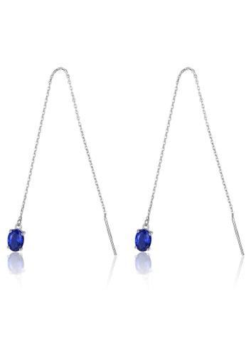 SUNRAIS silver High-end Silver S925 silver fashion earrings 2E27FAC3392766GS_1