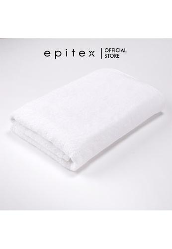 Epitex white Epitex Anti Odor 100% Cotton Bath Towel - Gym Towel - Bathing Towel - Comfortable Towel (White) 32011HLE015389GS_1