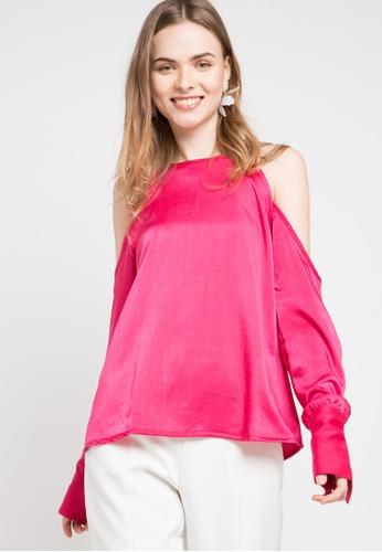 CHANIRA LA PAREZZA pink Chanira Tracey Blouse 1F6B7AA0BA203EGS_1