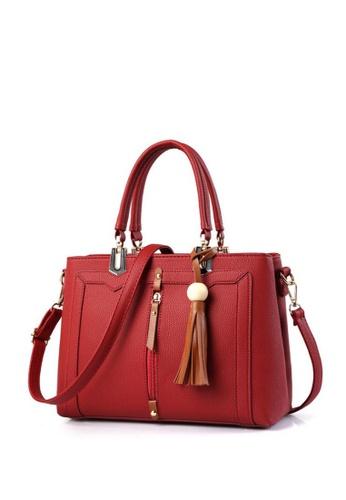 TCWK red Ladies Handbag TC258AC34JCJMY_1