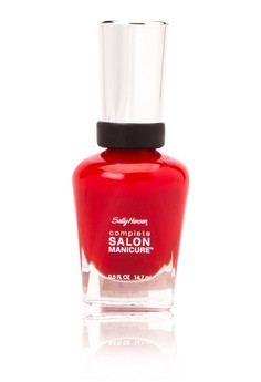 Complete Salon Manicure - Right Said Red