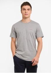 2GO grey Short Sleeve Round Neck T-Shirt 2G729AA0S5YTMY_1