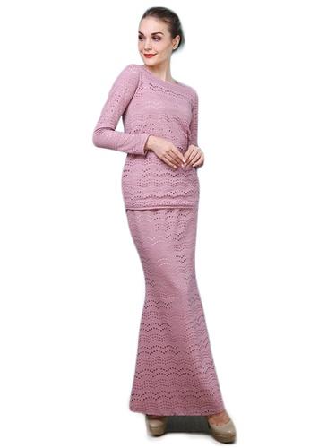 Maribeli Butik Vivie Lace - Dusty Pink from Maribeli Butik in Pink
