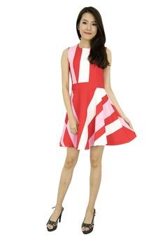 22bb9bf81e 63% OFF MOONRIVER Noelle Colour Block Dresss S  79.90 NOW S  29.90 Sizes S  M L