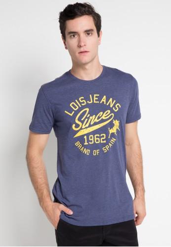 Lois Jeans navy Short Sleeve T-Shirt LO391AA0WP05ID_1