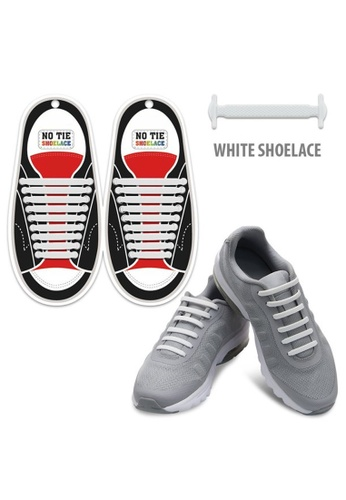 Fashion by Latest Gadget white No Tie Silicone Shoelaces Size For Adult FA499SH40RULPH_1