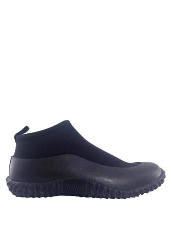 Twenty Eight Shoes 黑色 男女款前衛設計的雨靴 VR1801 21D99SH905DB22GS_1