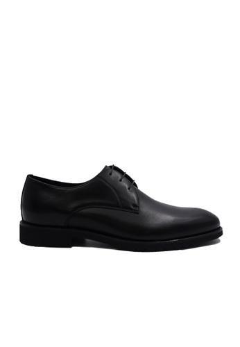 Goldlion black Goldlion Premium Derby Shoes in Black (HSH116TG92B-9A) 2EB64SH7E830CEGS_1