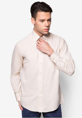 長袖襯衫esprit tw, 服飾, 素色襯衫