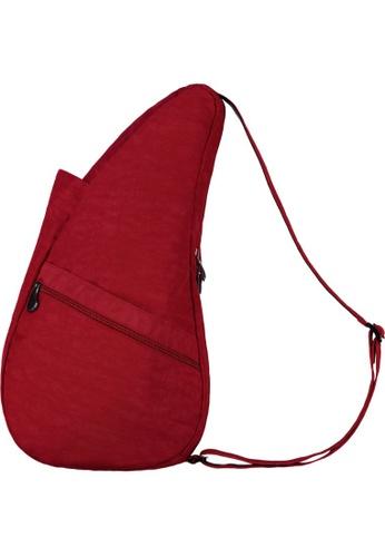 Healthy Back Bag red Healthy Back Bag Textured Nylon Crimson S -6L E6A57ACE3F7F23GS_1