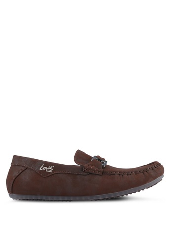 Louis Cuppers brown Casual Loafers LO977SH0S9RVMY_1