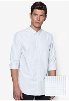 Grid Check Mini Collar Shirt