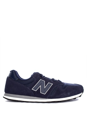 New Balance navy 373 Lifestyle Shoes 750F6SH94E0990GS_1