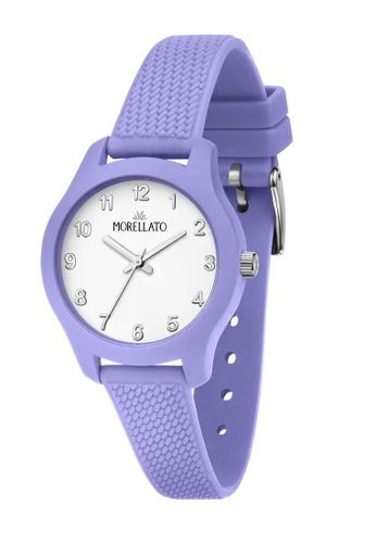 Morellato purple Morellato Soft lilac Silicon Strap Ladies' Watches R0151163515 B8FE3ACA796132GS_1