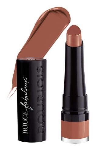 Bourjois brown Bourjois Rouge Fabuleux Lipstick #05 Peanut Better C4CCCBEDC0D8D1GS_1