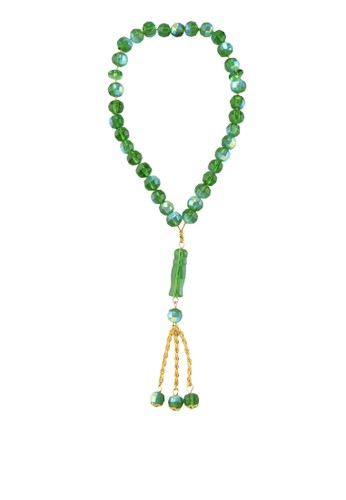 SHALIMAR green Beads Crystal Basic 33 SH713AA86AQVID_1