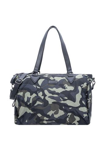 38aeb87f63f SEMBONIA multi Men Nylon Trimmed Leather Duffel Bag (Multicolor)  SE598AC0T0R6MY 1