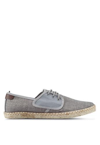 Burton Menswear London grey Scuba Grey Derbies B7AF4SH088C8E0GS_1