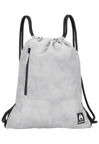 Nixon grey Everyday Cinch Bag II - Concrete (C28302101) 1AD7BAC32A8B94GS_1