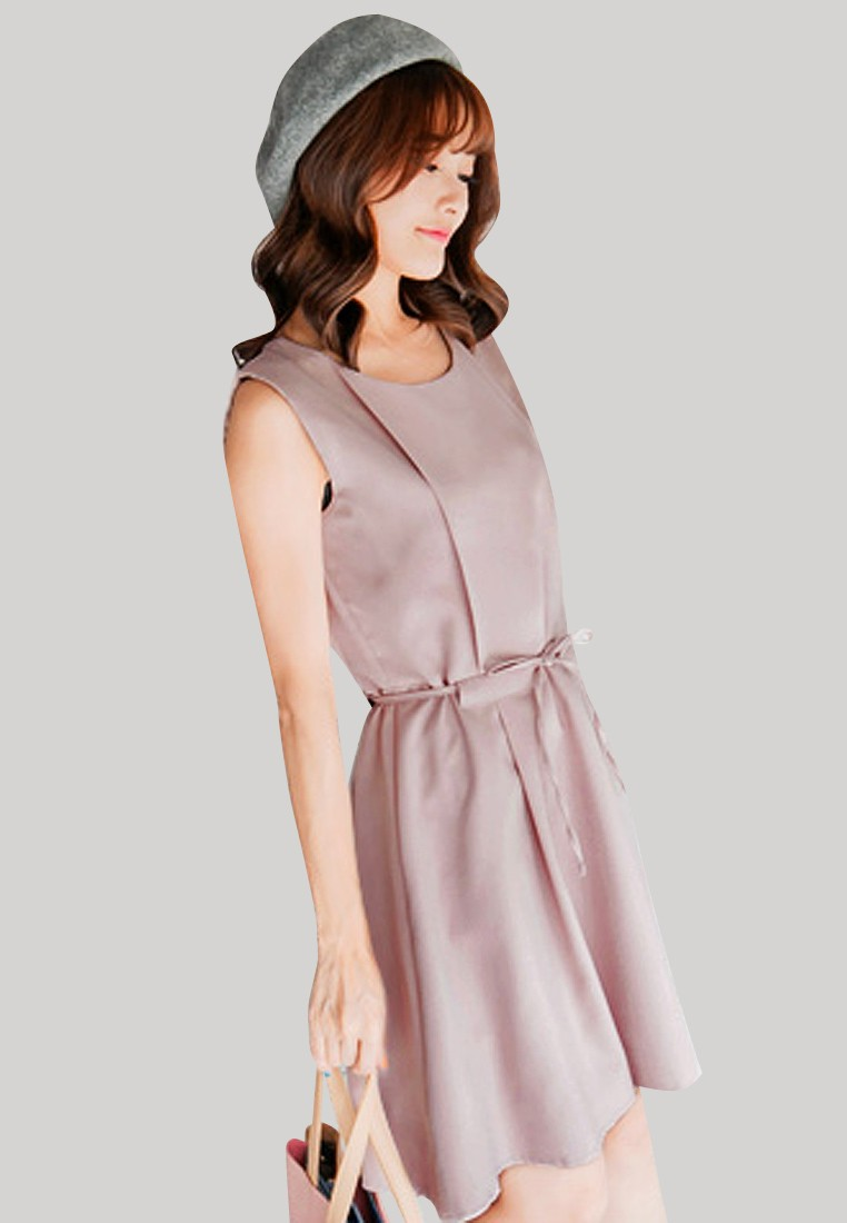 Forever Young Pleated Dress