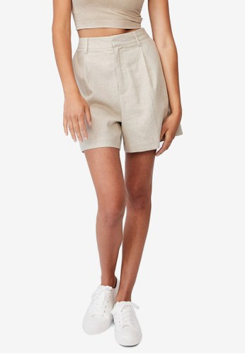 Cotton On brown Ultimate Smart Shorts D27EDAA41B6D7AGS_1