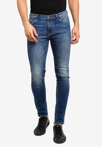 2f31396535f Buy MANGO Man Skinny Dark Vintage Wash Jude Jeans Online on ZALORA ...
