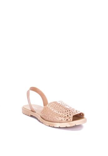 Reva beige Ginny Flat Sandals 7E541SH289F898GS_1