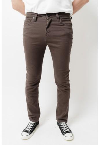 GREENLIGHT brown Men Denim Pants 020421 6C659AADCDA07FGS_1
