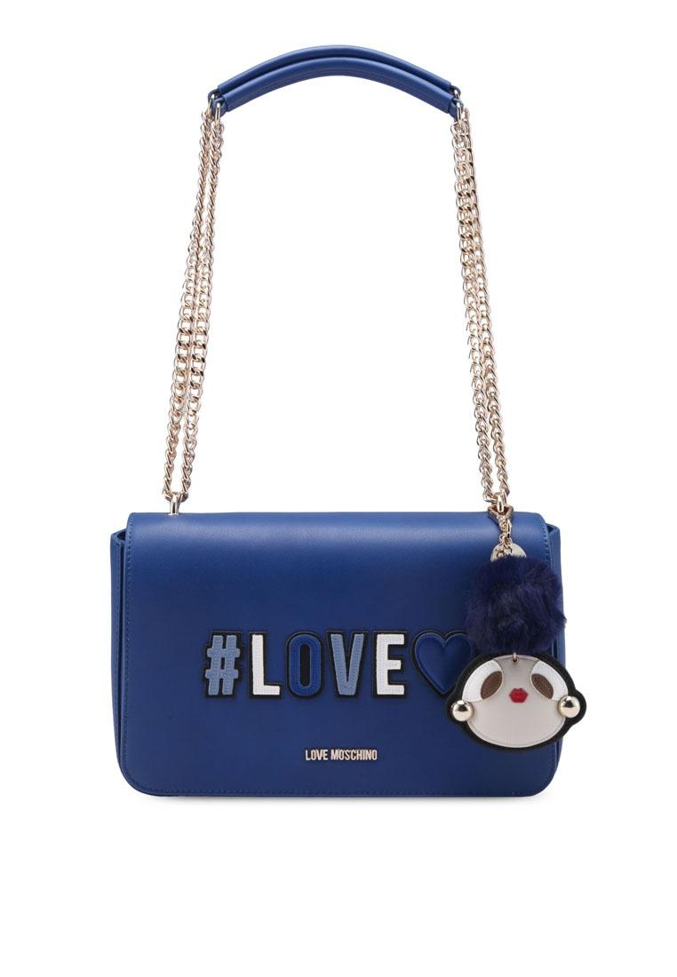 Bag In Prodigy Gzziu Love Shoulder Friday Borsa Blue Moschino Black Scj4R35ALq