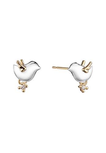 ec75f3e6f Buy Tenshi no Tamago Angel Friends Sterling Silver Earrings AFER0002 |  ZALORA HK