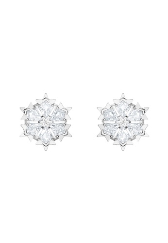 Swarovski silver Magic Pierced Earrings 5106BAC8A6438CGS_1