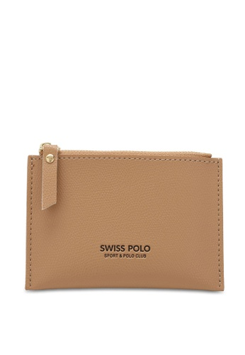 Swiss Polo brown Casual Mini Purse 24603AC6B17473GS_1