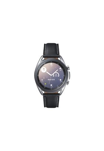 Samsung silver Samsung Galaxy Watch3 Bluetooth (41mm) Stainless Steel Mystic Silver. F9F45HL82DF1A9GS_1