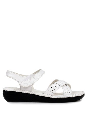 BETTINA white Bettina Sandals Brenna - White 2FFE4SH2C06A89GS_1