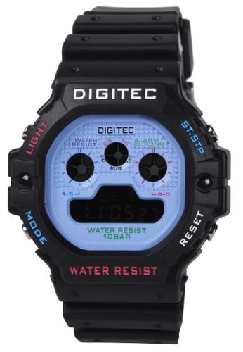 Digitec blue Digitec - Jam Tangan Pria - Black Blue - Resin Strap - MDG5090-B 51021AC614E195GS_1