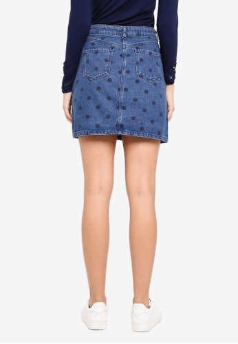 64a5ff61c6 Buy Dorothy Perkins Midwash Spot Skirt Online on ZALORA Singapore
