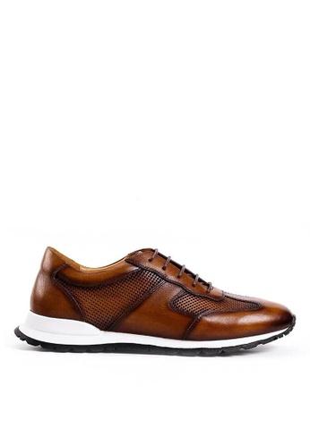 Twenty Eight Shoes Port Vintage Leather Sneakers BL088-1 88BA1SHB7578D5GS_1